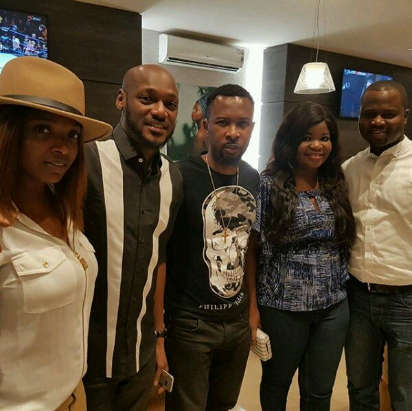 Ruggedman treats Tuface and couple to dinner
