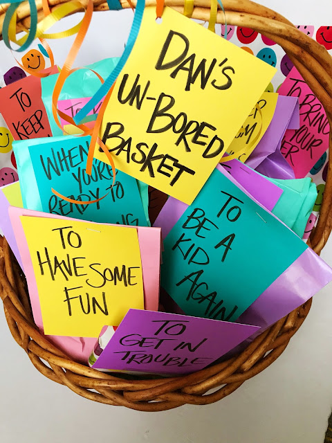 Fun hospital gift basket for any age @michellepaigeblogs.com