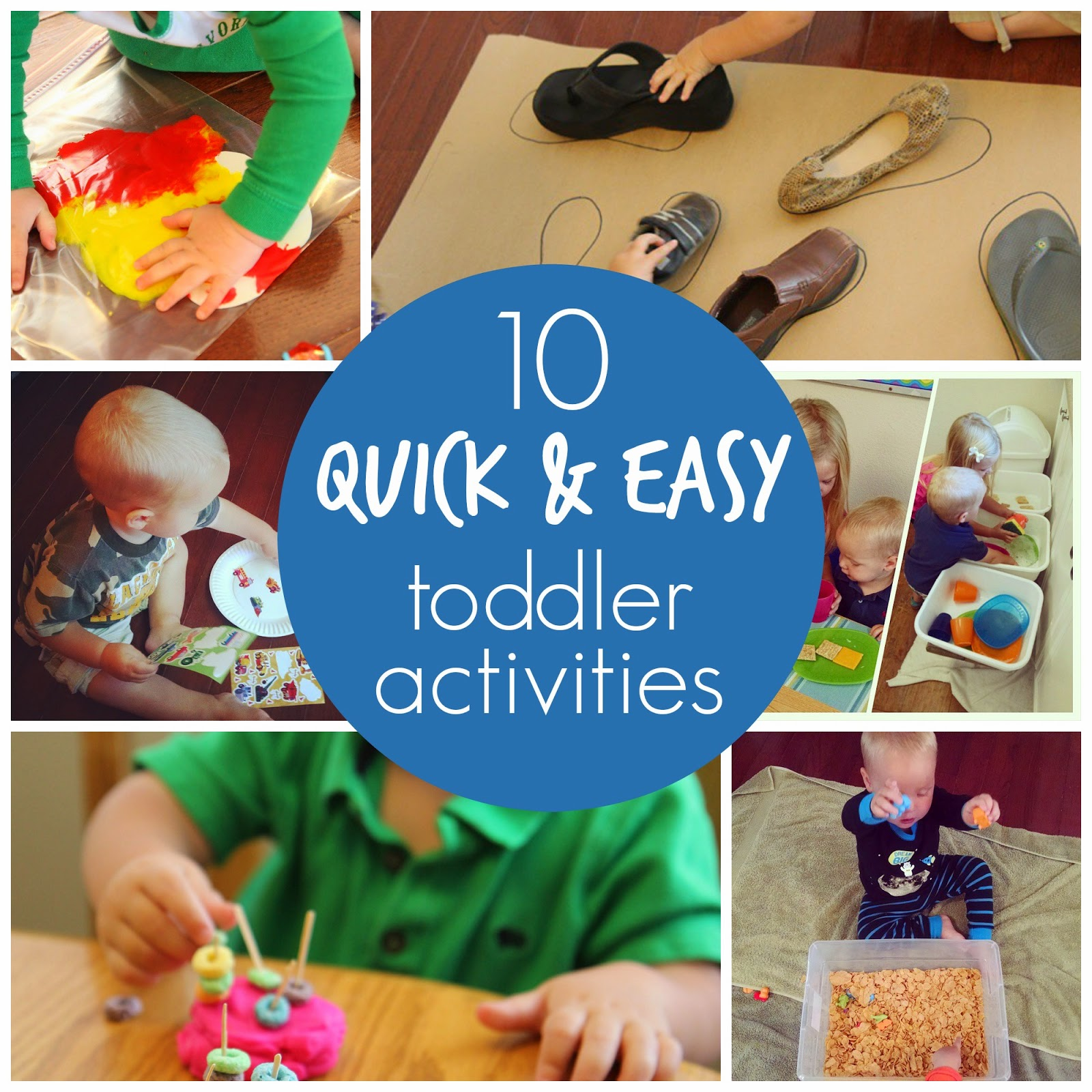 Toddler Approved 10 Quick & Easy Toddler Activities
