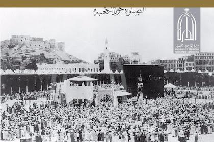 Masya Allah.. Beginilah Suasana Ka'bah 130 Tahun Yang Lalu Lengkap Dengan Fotonya