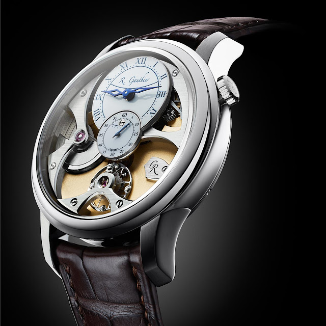 Romain Gauthier Insight Micro-Rotor White Gold White Dial