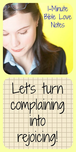 Jesus, Bible, Stop complaining, Israelites complained