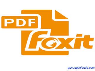 FoxitReader 814 Free Lisensi - Gratis Terbaru 2017