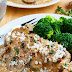 Chicken And Mushroom Skillet In A Creamy Asiago And Mustard Sauce Recipe
