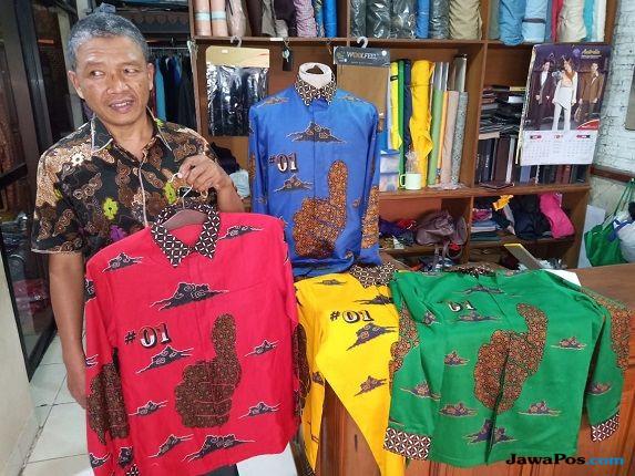 Tak Ingin Kalah, Jokowi Siapkan Baju Batik untuk Kampanye Terbuka