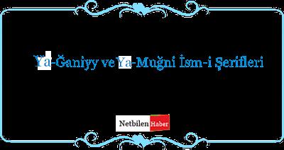 Ya - Ğaniyy Ya- Muğni zengin olma duasi