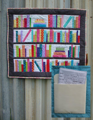 Bookends Mini Quilt Pattern by Laura Piland Slice of Pi Quilts