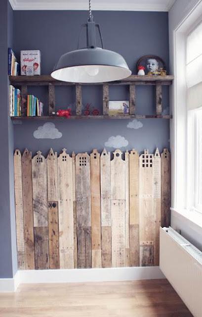 Wooden Pallets For Children's Room Decoration 5