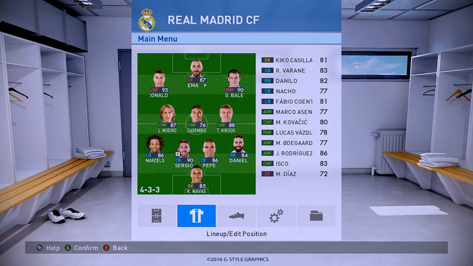 PES2017. OptionFile Update PTE Patch 4.0 by Agung Menditawala ~ GILAPESKU