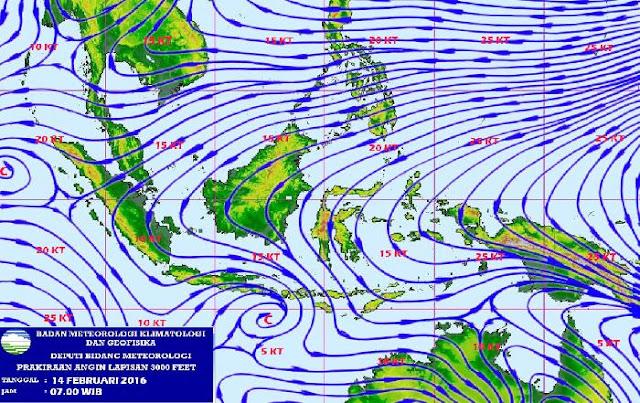 Contoh gambar pola angin (BMKG)