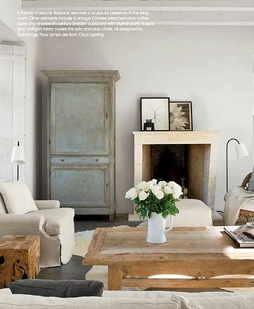 image result for Eleanor Cummings modern farmhouse living room antiques rustic elegance Milieu