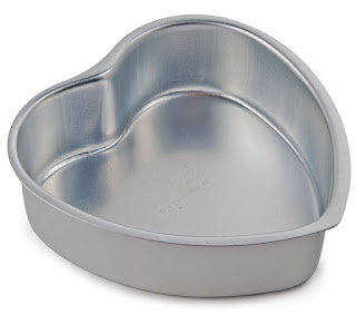 Heart shaped wedding cake pans