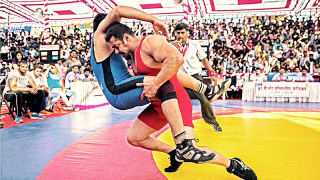 Salman Khan seen as MMA Wrestler in Sultan movie