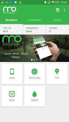 Aplikasi Mobayar terbaru pulsa gratis