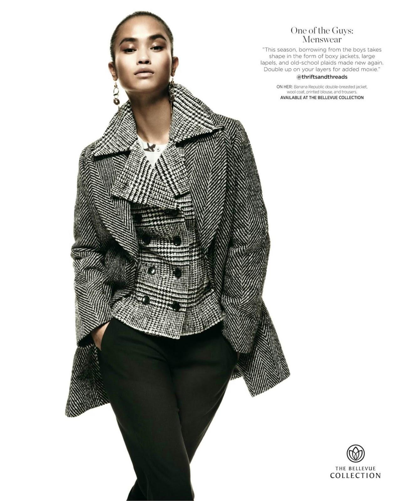 8cee82932434c6 Sharina Gutierrez (DNA) for the Bellevue Collection in US Vogue (September  2016). PH  Greg Kadel