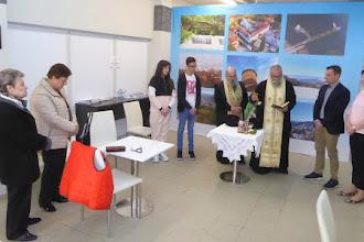 Αγιασμός στο εκλογικό κέντρο του Γιάννη Κορεντσίδη