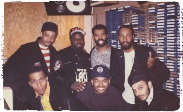 ClassicPics Red Alert, Funkmaster Flex Dahved Levy @HOT97 1993