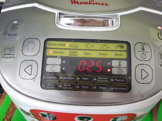 Madre de 2 Blog: Pollo al horno Moulinex Maxichef Advanced