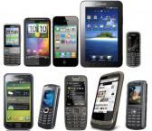 Berbagai Jenis Handphone