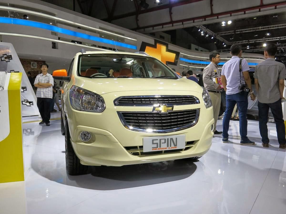 Galeri Modifikasi Mobil Chevrolet Spin Terbaru
