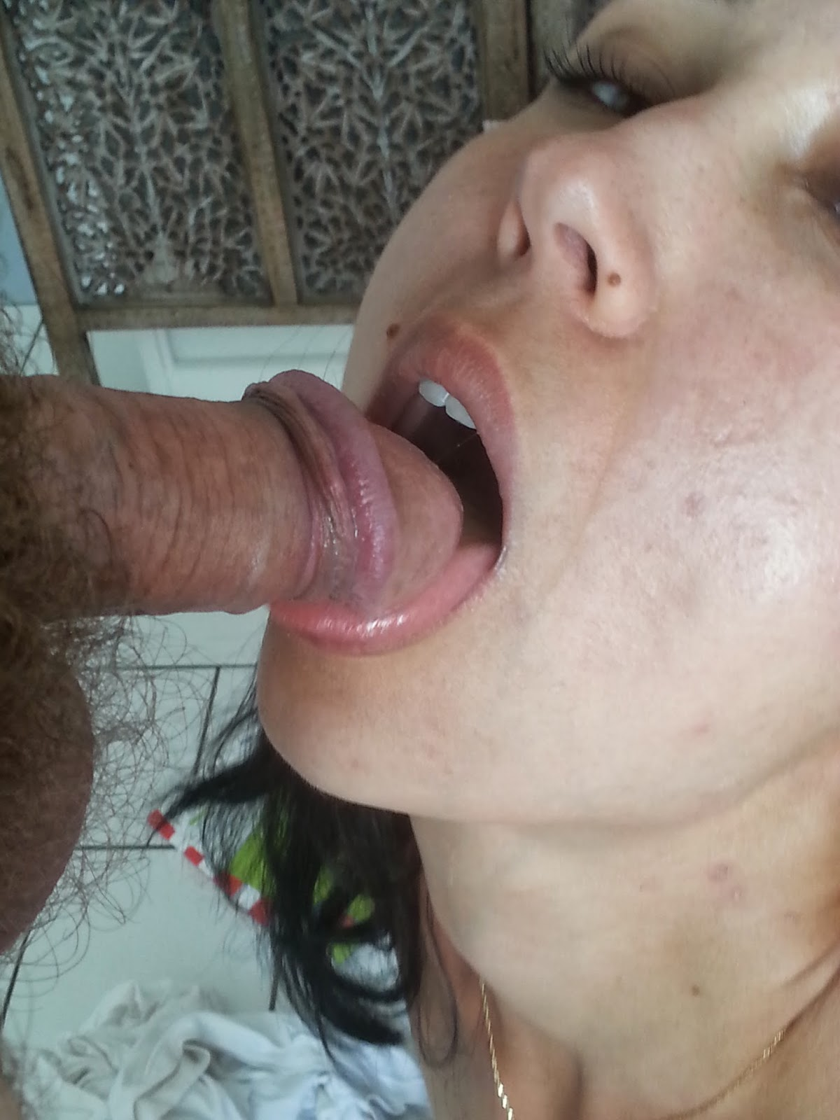 Slutwife eats cum and drinks piss from strangers 5