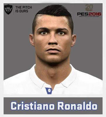 PES 2016 Cristiano Ronaldo New Face