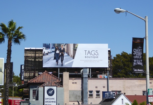 Tags boutique FW 2016 billboard
