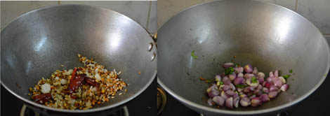 South Indian vendhaya keerai sambar