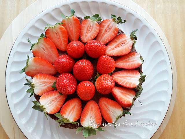 Cheesecake de chocolate negro sin horno (videoreceta)