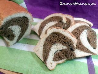 Pane variegato all'orzo