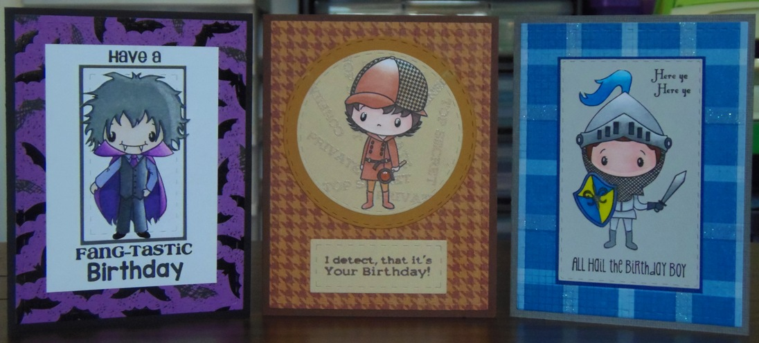 Craft With Bee Boys Birthday Cards