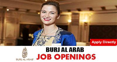 Latest Jobs in Burj Al Arab Dubai