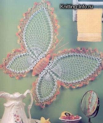 Un toque de mercy tapetes doilies con graficos - Esquema punto estrella crochet ...