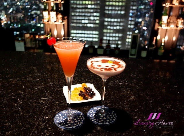 keio plaza award winning hello kitty polestar cocktails