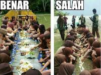 Viral Foto Pramuka Makan di Atas Tanah, Ini Yang Sebenarnya Terjadi