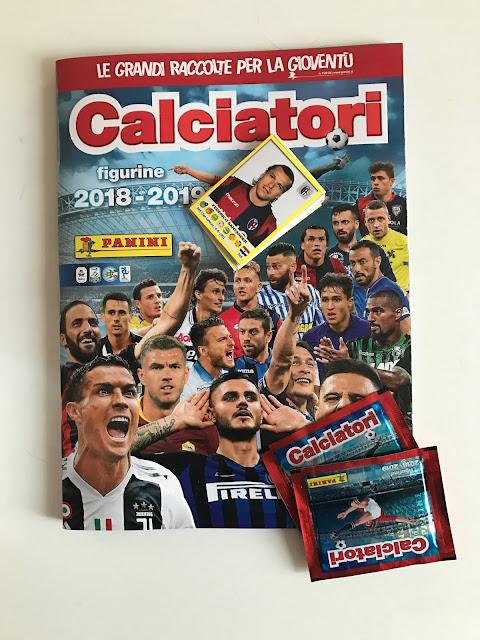 Album Calciatori Panini 2018 2019
