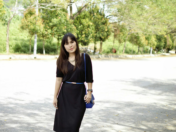 Outfit Diary : Black Love | Tips on how to wear black dress?