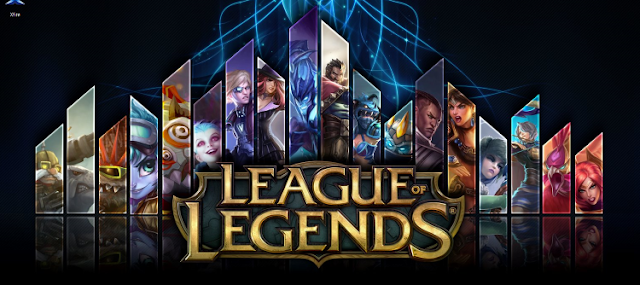 لعبة league of legends