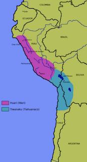 Ubicación de la cultura Tiahuanaco