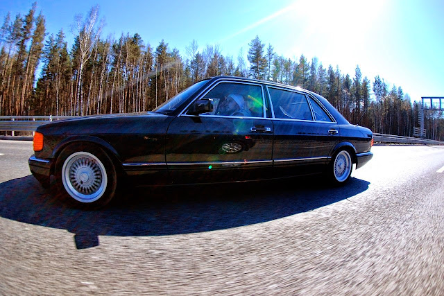 Mercedes Benz Gl Class >> Mercedes-Benz W126 500SEL Custom | BENZTUNING
