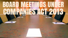 Provisions-Minimum-Board-Meetings-Companies-Act-2013