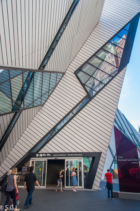 Entrada Royal Ontario Museum ROM Toronto