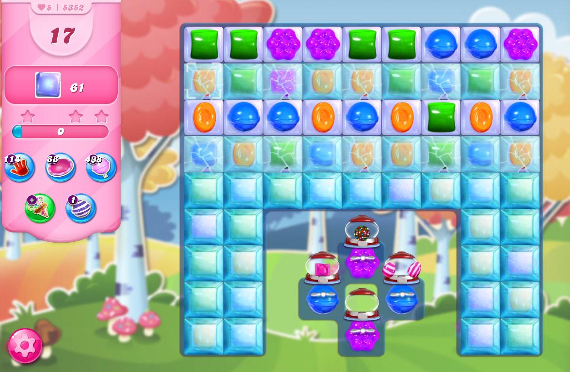 Candy Crush Saga level 5352