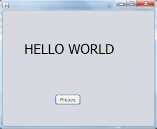 Hello World Java netbean pertemuan 1