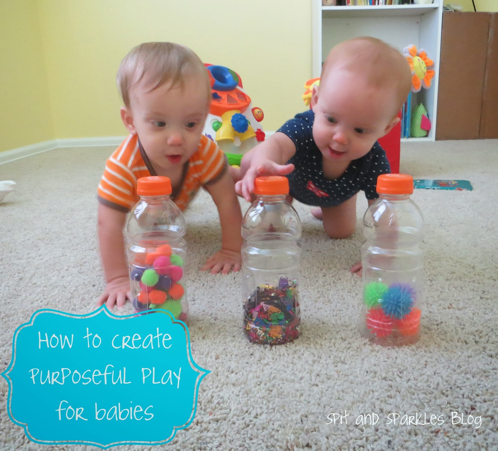 How to create purposeful play for babies #totschool #earlylearning #homeschool