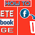 How to Delete A Created Facebook Page 2017