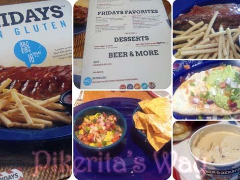 Comer en #Vips o #Fridays