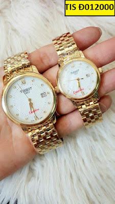 đồng hồ cặp đôi Tissot Đ012000
