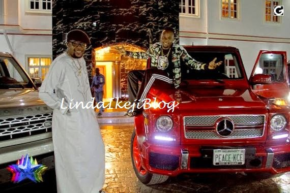 kceegwagonbirthday+present+lindaikejiblog Kcee Gets 2013 Benz G Wagon From Brother As Birthday Gift [See Photos]