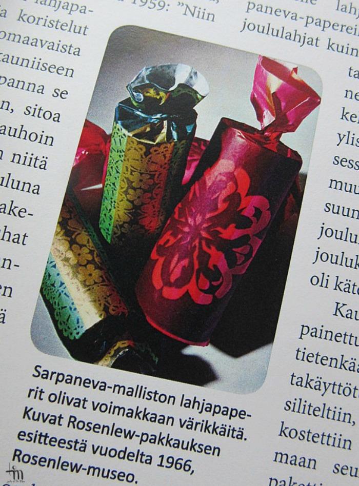 sarpanevan joulupaperit hopeapeilin joulu -kirjassa